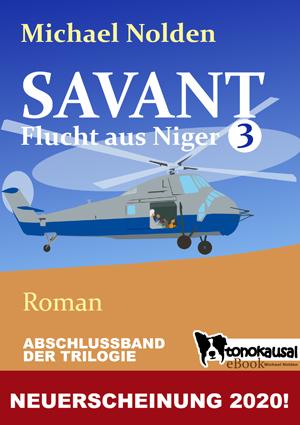 Titelbild - SAVANT - Flucht aus Niger 3