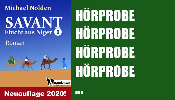 SAVANT - Flucht aus Niger 1